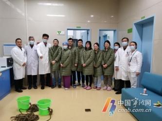 宁波医护人员入住临时宿舍 两只
